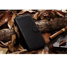 """Rétro Style Etui Cuir Véritable Noir iPhone 6 4,7"""""""
