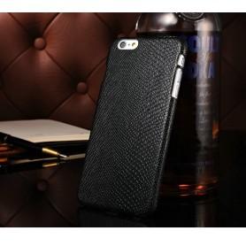 """Housse Etui Lézard Motif Noir Iphone 6 Plus 5.5"""" pouces"""