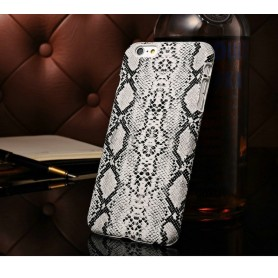 Etui Serpent Motif Blanc Iphone 6 Plus 5,5""