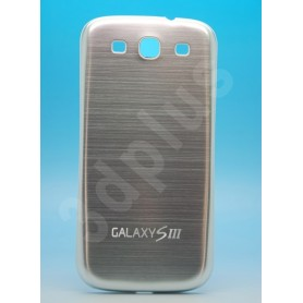 Batterie Cache Alu Brossé Argent Samsung Galaxy S3