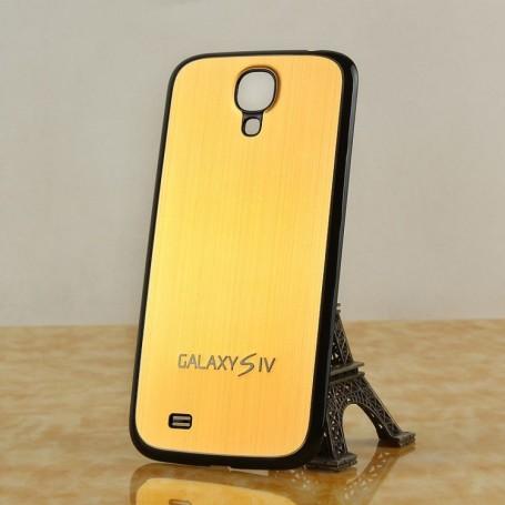 Batterie Cache Alu Brossé Noir-Or Samsung Galaxy S4 i9505
