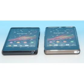 Etui Silicone Gel Gris Sony Xperia Z