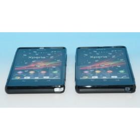 Etui Silicone Gel Noir Sony Xperia Z