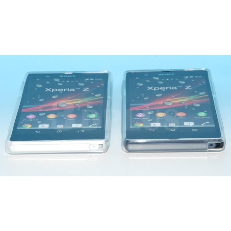 Etui Silicone Gel Transparence Sony Xperia Z