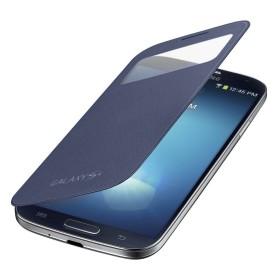 Etui S-View Cover Samsung Galaxy S4 Bleu Nuit
