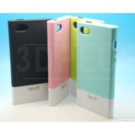 Etui iFace hybird Iphone 5 - 5S Bleu