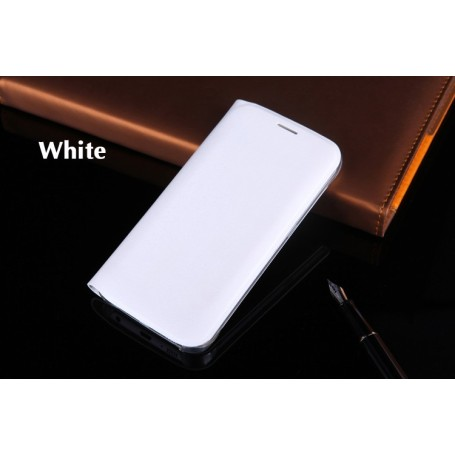 Housse Etui Flip Cover Noir Samsung Galaxy S6 Edge SM-G925F