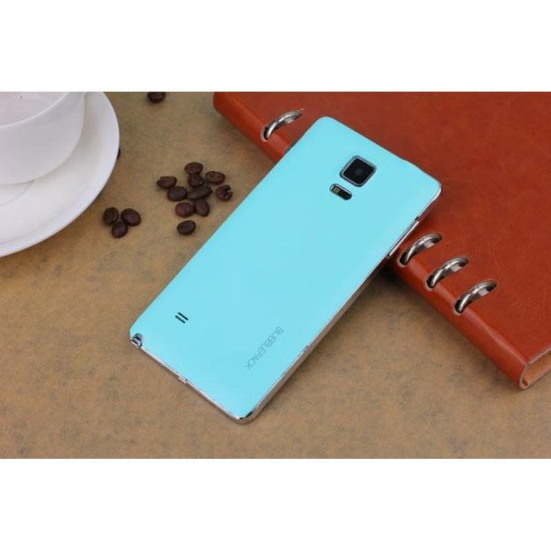 Turquoise Batterie Cache Bonbon Samsung Galaxy Note 4 SM-N910F