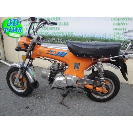 Kit 6 Stickers moto DAX Honda Couleur Personnalisable Type Origine