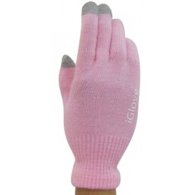 Gants Tactile iGlove Rosé iPhone Galaxy HTC Smartphone Tablette
