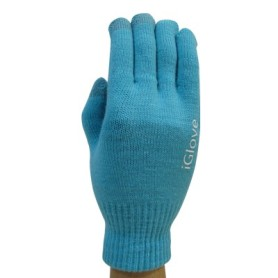 Gants Tactile iGlove Bleu Ciel iPhone Galaxy HTC Smartphone Tablette