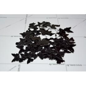 Noir 100 Pièces 3x2 cm 3D Stickers Papillon Acrylique Décoration Maison 3d