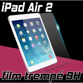 Film de protection Ecran Verre Trempé renforcé Apple iPad Air 2 Film tempered ipad air 2 4g