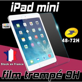 Film de protection Ecran Verre Trempé renforcé Apple iPad Mini Film tempered ipad mini 4g