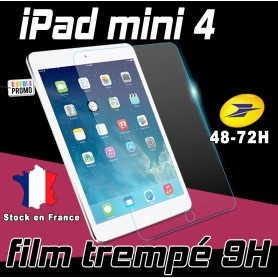 Film de protection Ecran Verre Trempé renforcé Apple iPad Mini 4 Film tempered ipad mini 4 4g