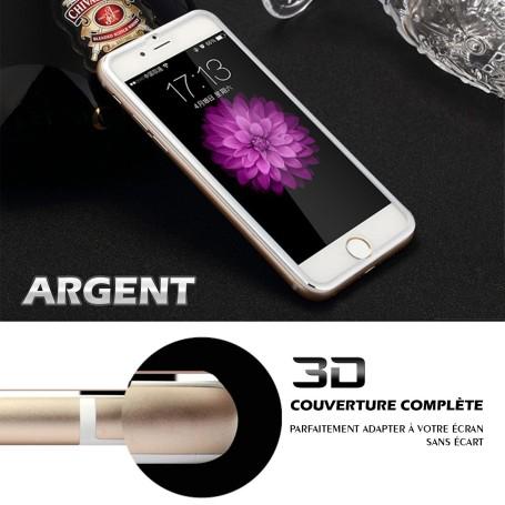 iPhone 6s Film 3D Edge Verre Trempe argnet Full Coverage Titanium Séries