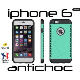 Coque iPhone 6 Vert Slim Armor Robuste Hybride Housse Antichoc