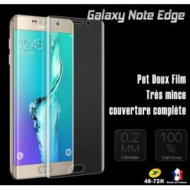 Film Ecran Pour Galaxy Note Edge Couverture Complété Antichoc courbe arrondis film souple