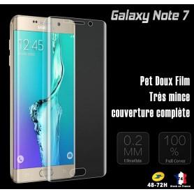 Film Ecran Pour Galaxy Note 7 Couverture Complété Antichoc courbe arrondis film souple