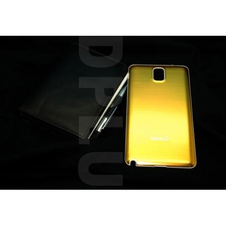 Batterie Cache Alu Brosse Samsung Galaxy Note 3 Doré
