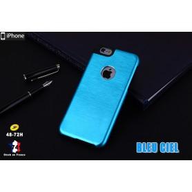 Coque Métallique en Aluminium Brossé iphone 6S 6 Cadre Silicone Tpu
