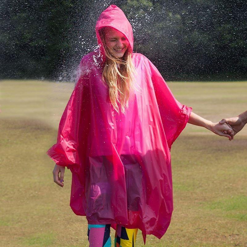 Poncho de pluie en plastique Adulte Splashmacs Transparente HQ et solide
