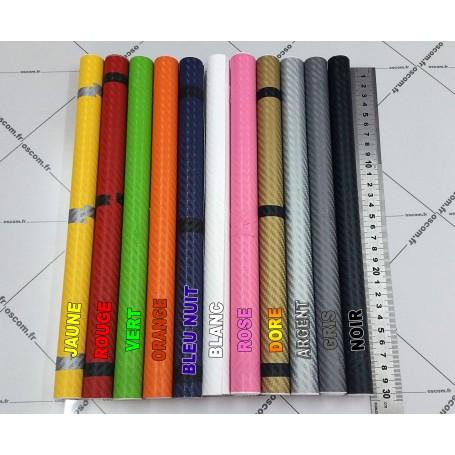 30x120 cm Dore 3D Fibre de Carbone Vinyle Adhésifs Autocollant Stickers Voiture Décorations