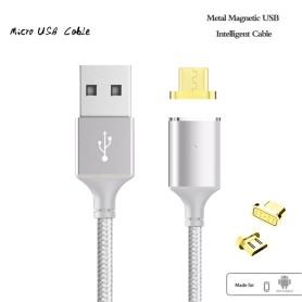 Cable Certifié Magnétique 2 Metre Galaxy Xiaomi, Samsung, Android 200 cm