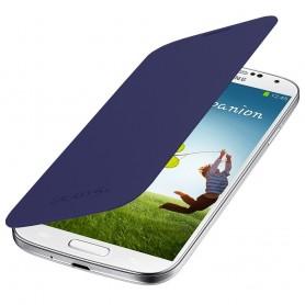 Housse Etui Flip Cover BLEU NUIT Pour Samsung Galaxy S4 i9500 i9505
