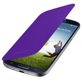 Housse Etui Flip Cover VIOLET Pour Samsung Galaxy S4 i9500 i9505
